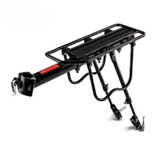 Bicycle Luggage Rack 50kg Capacity 20-29inch Full Quick Release with Reflector Aluminum Alloy Seatpost Bag