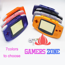 Tam Parçalar Yedek Konut Kabuk Paketi Için Nintendo Oyun Boy Advance GBA Açık Mavi