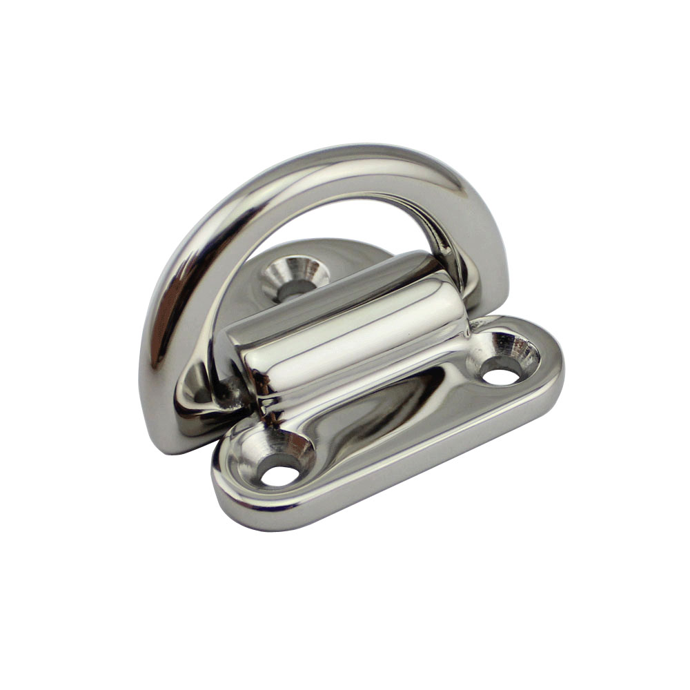 Marine Grade Stainless Steel Folding Cleat Mount Boat Hardware Assy