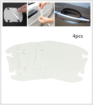 Car shape door handle protective film handle transparent stickers for Kia Forte Ceed Stonic Stinger Rio Picanto Niro image