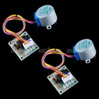 motor drive 2pcs 5V Stepper Motor 28BYJ-48 With Drive Test Module Board ULN2003 5 Line 4 Phase Free Shipping & Drop Shipping (1)