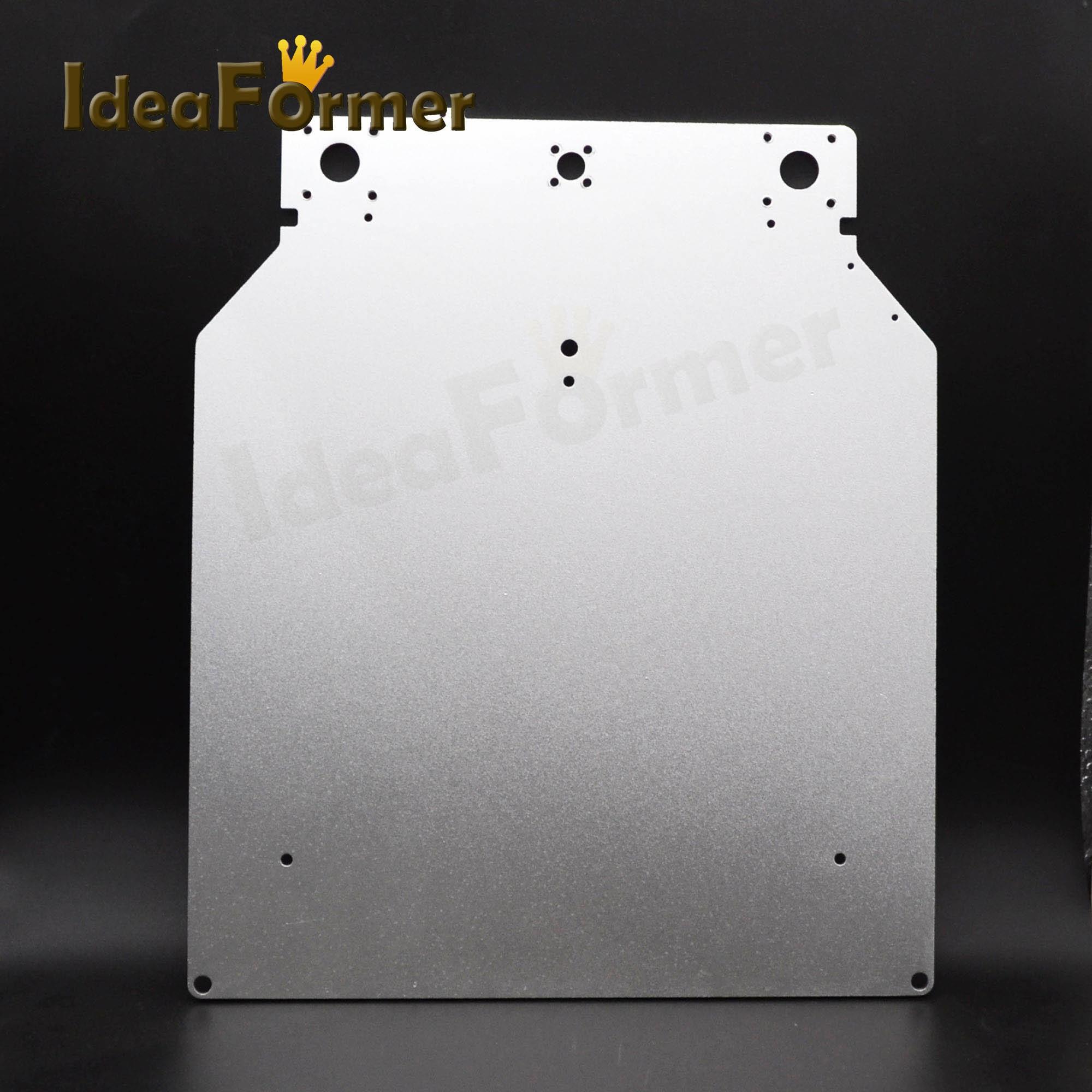 UM2 Z tabla calor de aluminio caliente placa Base soporte de plataforma 3D piezas de la impresora