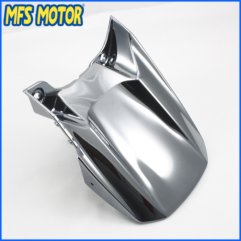 Freeshipping Motorcycle Rear Fender guard FAIRING ABS For Yamaha YZF R1 2004 2005 2006 YZFR1  04 05 06 Silver full set 3pcs motorcycle new black gold 320mm 220mm front rear brake discs rotors rotor for yamaha yzf r1 2004 2005 2006 04 06