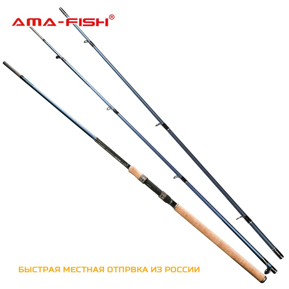 AMA-Fish Symphony IM7 feeder rod fishing 3.3m Lure Rod 3+3 Sections Carbon M Action Test 90g Spinning Feeder Fishing Rod mycolen mens shoes round toe dress glossy wedding shoes patent leather luxury brand oxfords shoes black business footwear