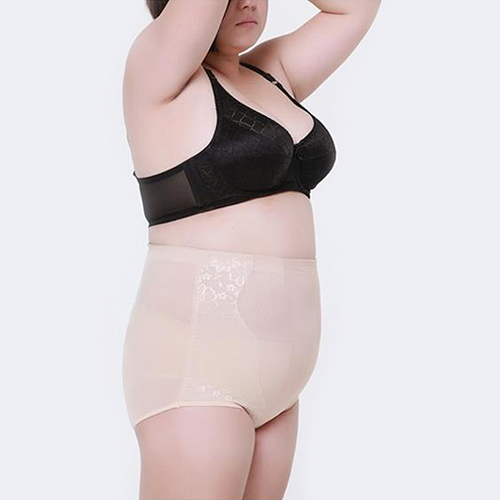 58fc86e91 Women Corset Fitness Shaping Underwear Cotton Abdomen Plus Size Body Shaper  09WG-in Control Panties from Women s Clothing   Accessories on  Aliexpress.com ...