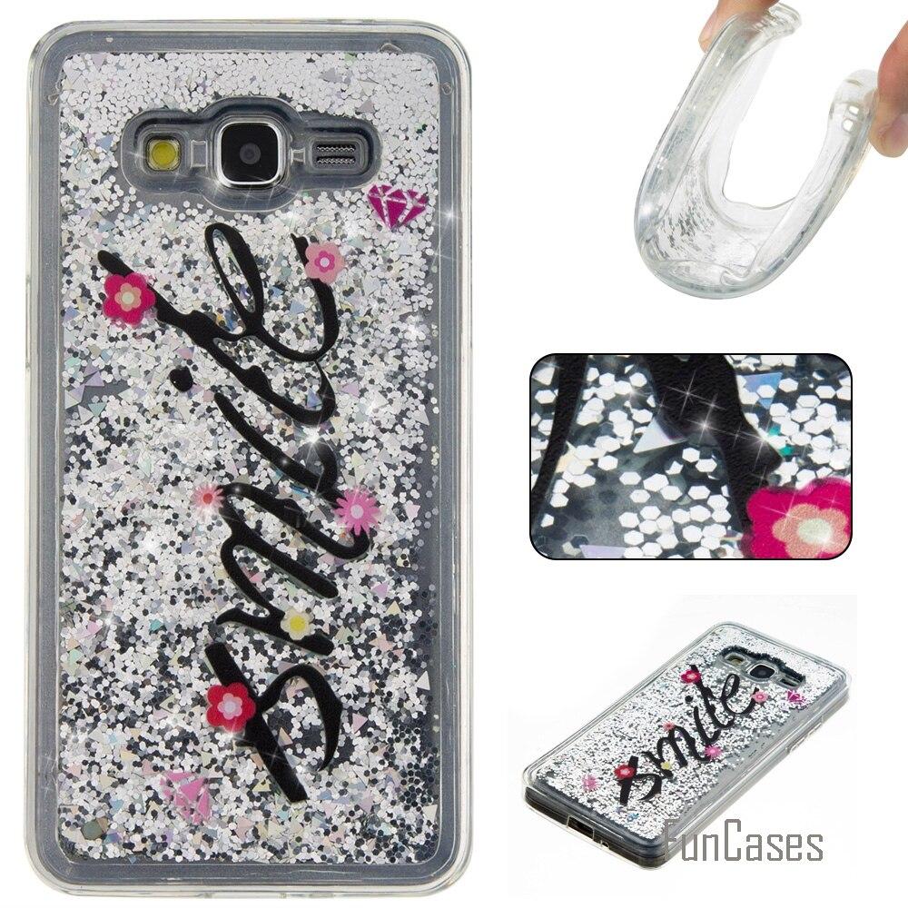 Funda Cute Quicksand Soft TPU Case For Samsung Galaxy G530 Coque Cartoon Phone Case Carcasa Etui AjaxCaso For Samsun Grand Prime
