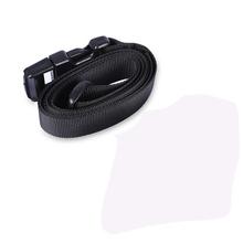 AEQUEEN 125 CM paski do torby czarna torba akcesoria odpinany wymiana paski na ramię długi nylonowy pasek paski bagażowe tanie tanio Nylon Bag Strap Fashion casual Simple Black Outdoor Camp Hiking Traveling SKU902120