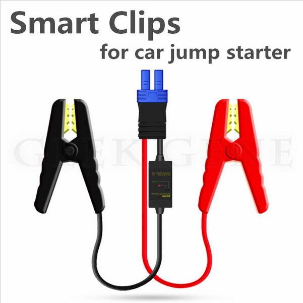 Portable Smart Booster Cable For Car Batte Starter Short Circuit Overcharge Constant Regulator Protecting Battery Free Ship
