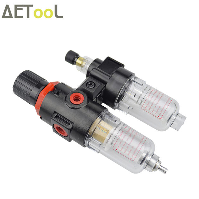 online shop aetool air compressor oil water separator air pressure ...