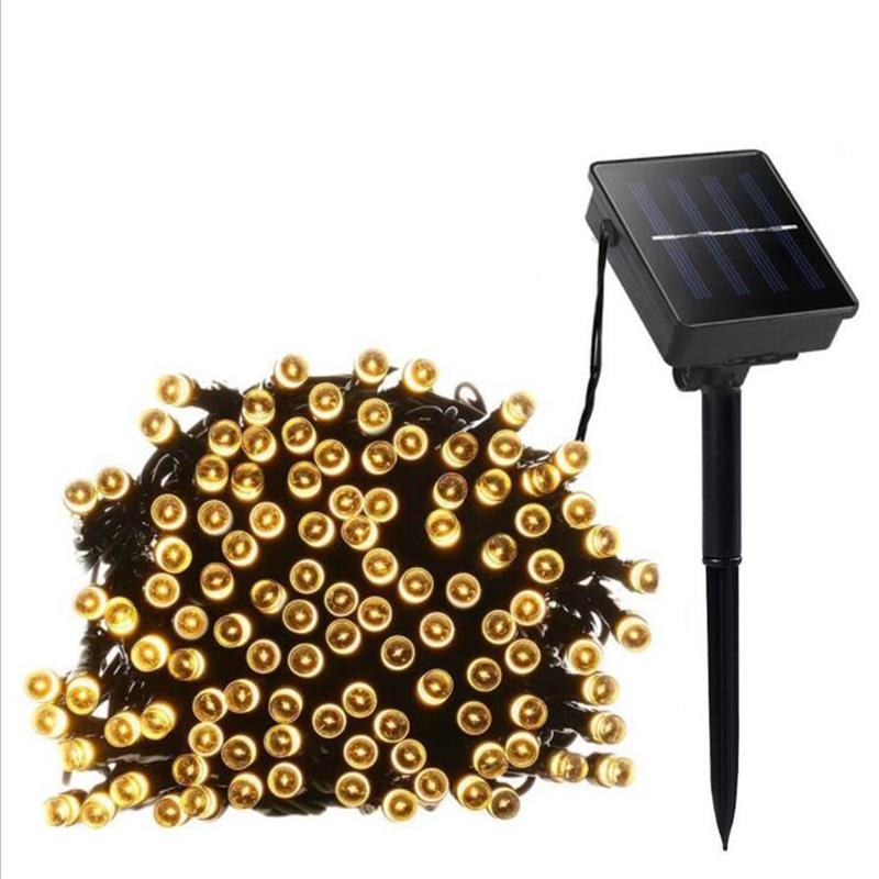 Solar Lamp LED Garden Light Waterproof Fairy LED String Solar Lights Outdoor Yard Landscape Wedding Party Lawn Decoration Lamps