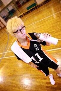 Image 5 - Haikyuu Cosplay Costume Karasuno High School Volleyball Club Hinata Shoyo Sportswear Jersey Uniform