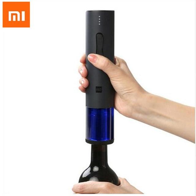 Xiaomi Huohou abridor automático de botellas de vino/Kit de tapón de vino sacacorchos eléctrico con cortador de papel abridor automático de botellas de vino H23