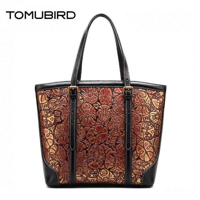 7add7a906971 Women genuine leather bag fashion luxury handbags women bags designer  chinese retro embossed women leather shoulder bag