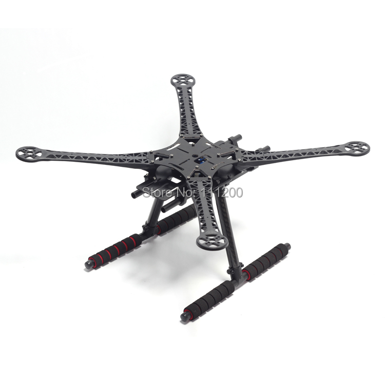 ФОТО S500 500mm Quadcopter Multicopter Frame Kit GF Version With Carbon Fiber Landing Gear for FPV Quad Gopro Gimbal F450 Upgrade