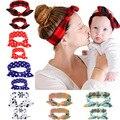 Повязка на голову с принтом «кроличьи ушки» для мамы и ребенка