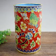 Antique Crafts Collection Authentic Copper Enamel Filigree