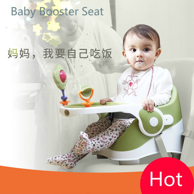 Luxury Booster Seat Baby Feeding Chair Multifunctional Baby High Chair  Portable Highchairs BB Dinner Tables And