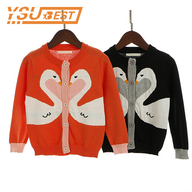 ec77082b2edd 2019 Kids Woolen Baby Girls Cardigan Sweater New Children Outwear ...