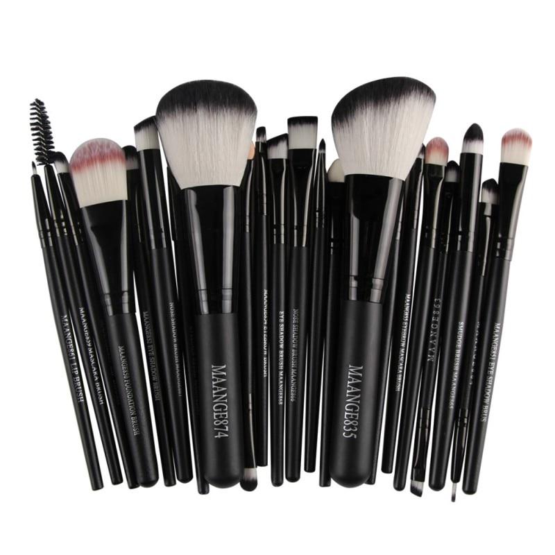22 Pcs Kosmetik Make-Up Pinsel Set Bulsh Powder Foundation Lidschatten Eyeliner Lip Make up Pinsel Schönheit Werkzeuge Maquiagem 2019