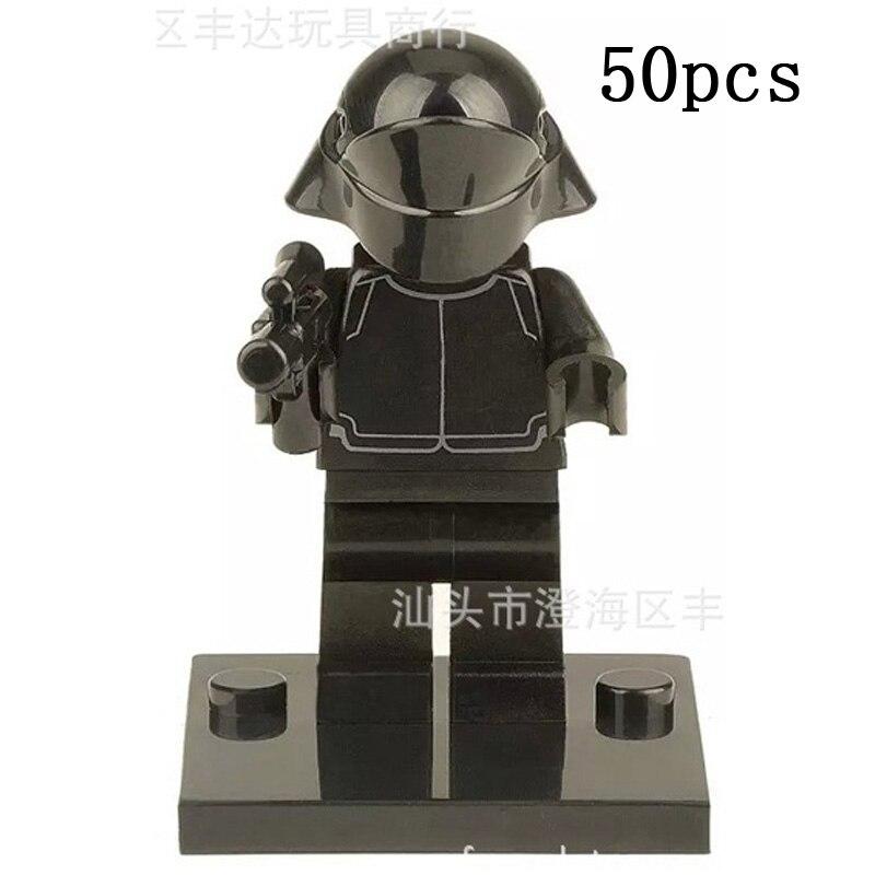 Пого Подарки Оптовая 50 шт. XH201 императорской Stormtro Star Wars Строительные блоки кирпичи игрушки Совместимость Legoe