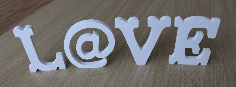 Special fonts Wooden Wood Free Standing Letters Alphabet Word love mr & mrs for Wedding Party Home Decorations gifts