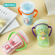 Medoboo 360 Degrees Cup Double layer PP Safe Baby Learning Drinking Cups Kids Trainning Feeding Leakproof Children Bottle *
