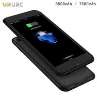 VRURC Portable Power Bank Case For IPhone 6 6S 6 Plus 7 7Plus 8 8Plus External