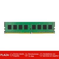 Kingston Technology Value RAM KVR24N17S6/4, 4 GB, 1 x 4 GB, DDR4, 2400 MHz, 288 pin DIMM, Negro, Verde