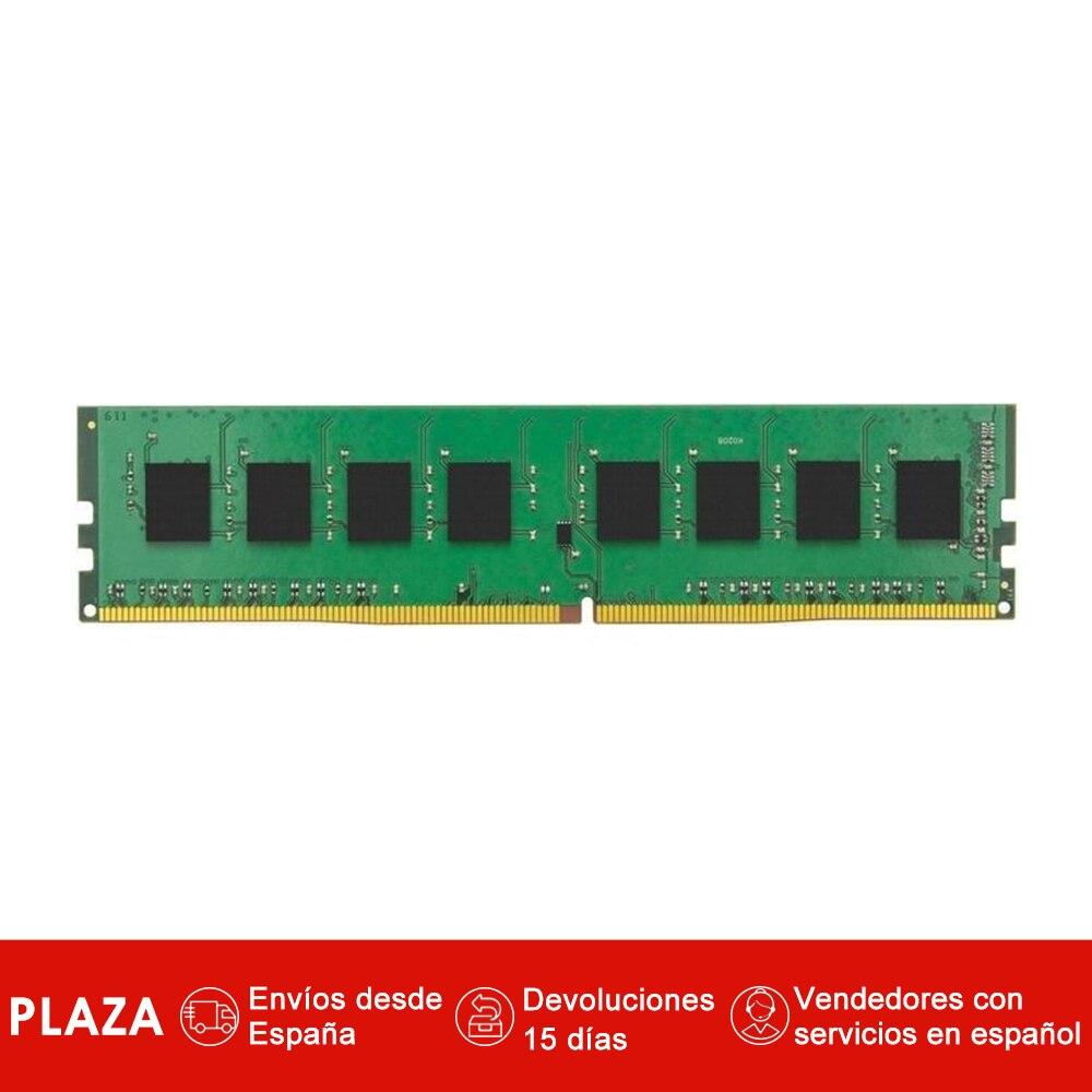 Valeur de la technologie Kingston RAM KVR24N17S6/4, 4 go, 1x4 go, DDR4, 2400 MHz, DIMM 288 broches, nègre, Verde