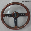 2017 car 14-inch modified mahogany steering wheel  Racing Universal 350 high quality