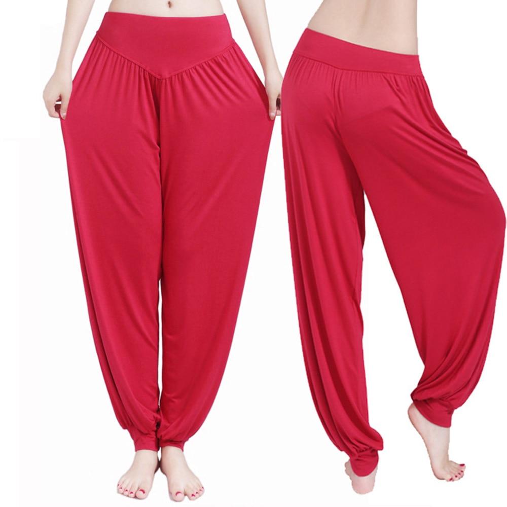 Women Modal Yoga Pants S-XXL S-XXL Plus Size Bloomers
