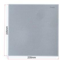 Мульти отверстия кровать 3d принтер ultracase платформа из полипропилена сборки пластин ize 235-235 мм для ender 3 и ender 3 pro
