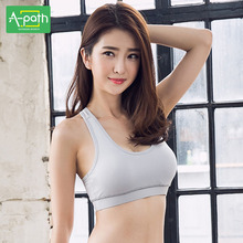 2018 Women Summer Sports Bra Yoga Clothes High Strength Vest Type Sport Bra Top Underwear Running Fitness Speed Drying