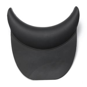 Image 5 - Nero Shampoo Silicone Testa Cuscino di Resto del Collo Con La Tazza di Aspirazione Dei Capelli di Lavaggio Lavandino Bacino Parrucchiere Accessori FAI DA TE A Casa