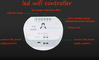 Magic UFO Led Wifi Controller Amartphone Control Rgb Rgbw Led Strip With 16million Colors Music Mode