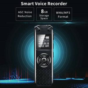 Image 2 - V91 Vandlion Professionelle Stimme Aktiviert Digital Audio Voice Recorder 16GB 32GB Aufnahme Diktiergerät WAV MP3 Player