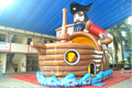 (China Guangzhou) manufacturers selling inflatable slides,Inflatable Pirate Ship,  CHA-210