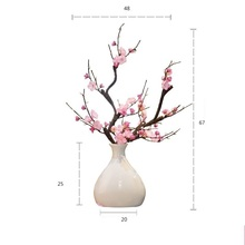 Vazo Jarron Deco Maison Vaso Ceramica Teraryum Jarrones Decorativos Moderno Home Decoration Accessories Modern Flower Vase