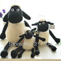 Free shipping One Piece Retail Sheep Plush Toys Stuffed Animals sha, 2 sizes for choose kids friends birthday gifts