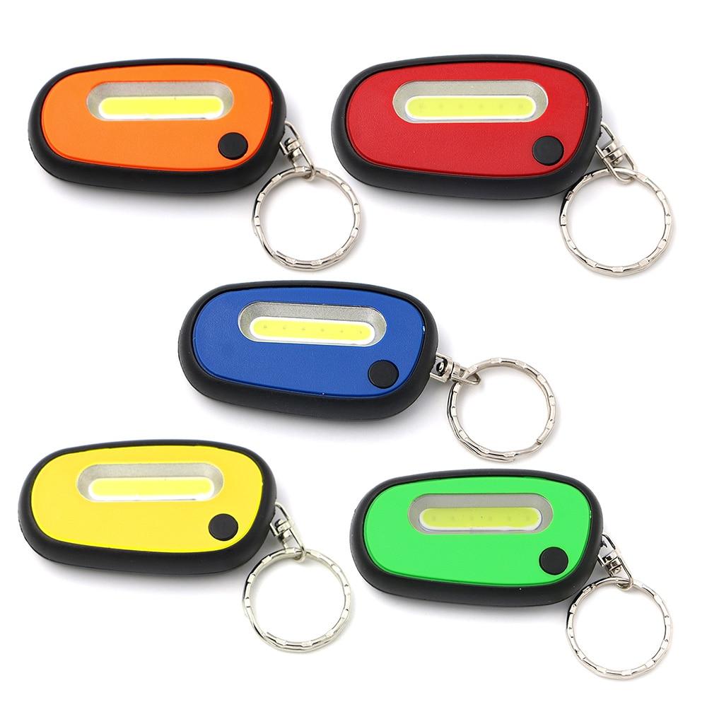 Ultra Bright Mini Pocket LED Light Flashlight Keychain Keyring Torch Camping Run