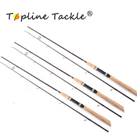 Topline Tackle Carbon Spinning Fishing Rod Power Hand Fishing Lure Rod Lure Casting Rod Canne Spinnng Leurre Spinning Fishing