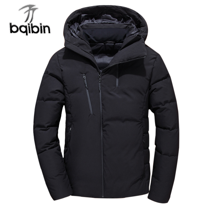 2018 Men's Winter Jacket Warm Jackets Men Padded Hooded Overcoat Fashion   Parka   Male High Quality Brand Coat Plus Size