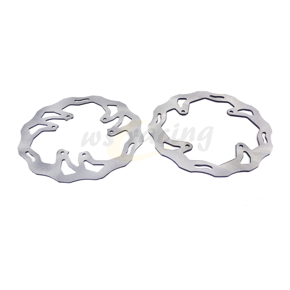 Stainless Steel Front Rear Disc Brake Rotor Set For HONDA CR125R CR125E CR250R CR250E CRF250X CRF250R CRF450R CRF450X CRF230 гели натуротерапия натуротерапия 952509 скипидарный бальзам для растираний скульптор тела 150 мл