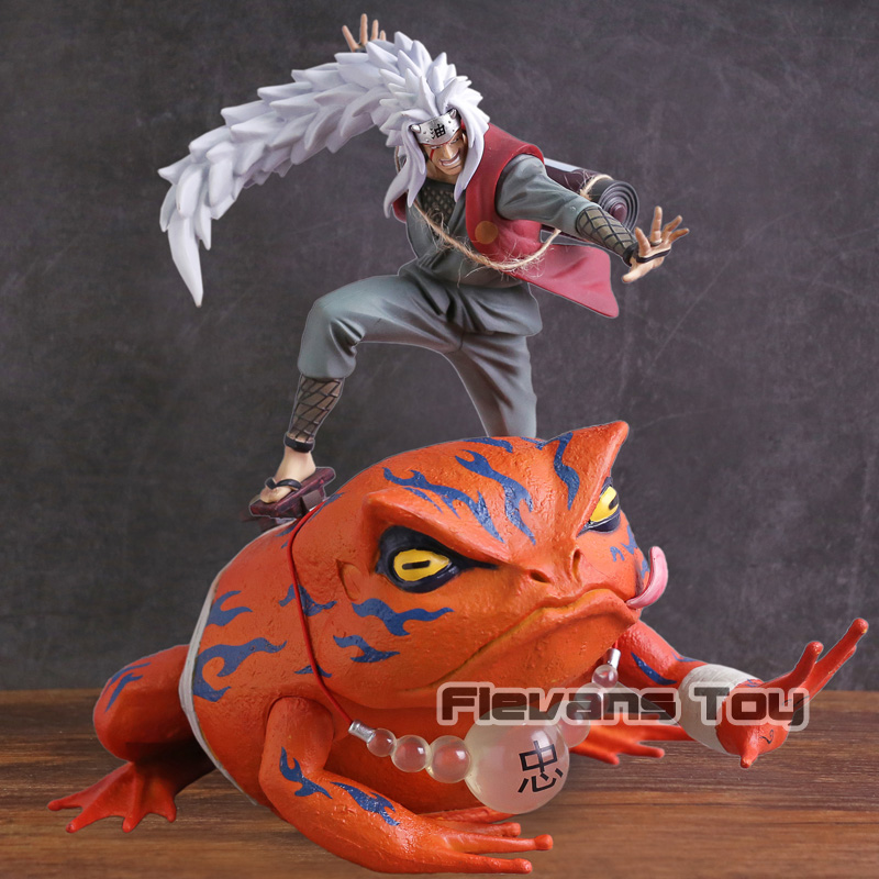 Naruto Shippuden Jiraiya Gama Bunta PVC Action Figure Collectible Model Toy