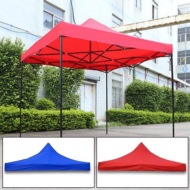 Parasol imperméable Pop Up tente de jardin Gazebo auvent extérieur  chapiteau marché ombre partie plage 2.9*2.9 m
