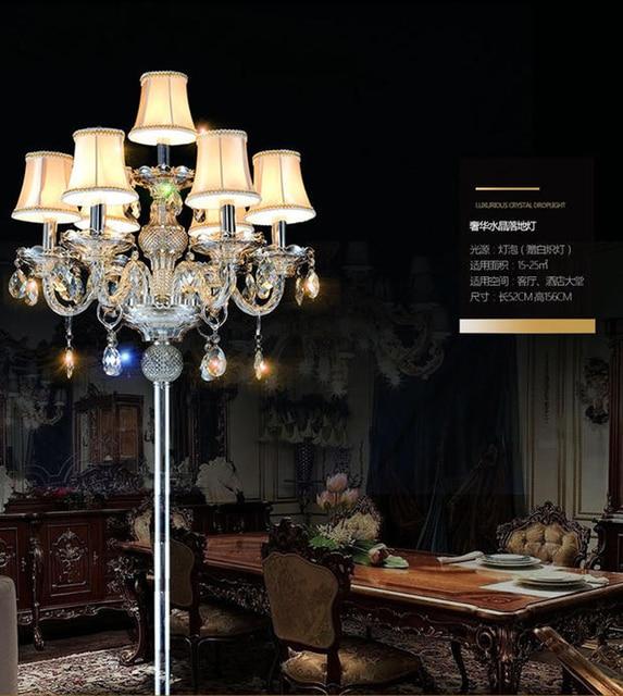 Modern Floor Lamp Villas Bedside Standing Lamps Floor Lamps For Living Room  Bedroom Elegant Floor Lamp