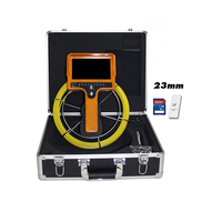 Waterproof Pipe Inspection Camera Video Endoscope Industrial Borescope 35m Cable DVR Monitor Drain Sewer Tube Chimney