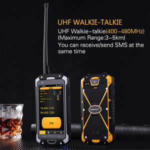 Image 4 - Military Industry V18 Santong IP68 Dust proof Water Fall 4.5 inch Large Screen 4G Hardware Interphone Smartphone
