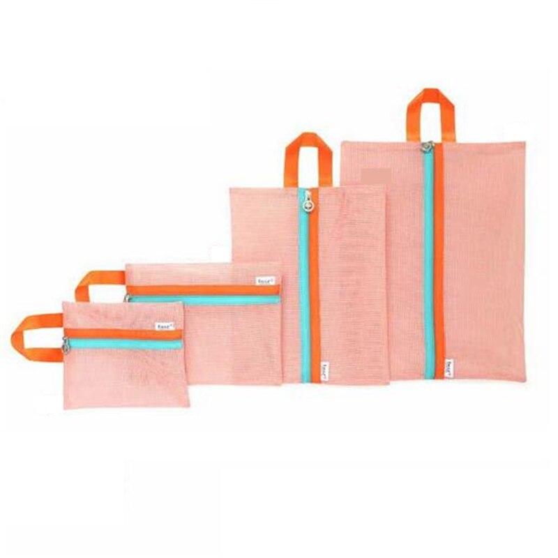 Pacgoth корейский стиль полиэстер сетка-мешок Чемодан Организатор складной упаковки организаторы Туристические товары сумка для хранения 1 ко...