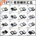 2 unids wholesale tamaño: 15x11mm delgado teléfono altavoces cuadrados universal para samsung/huawei/xiaomi/oppo/...